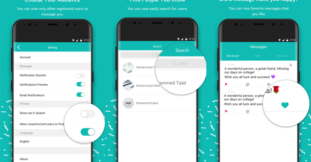 Sarahah download for Android