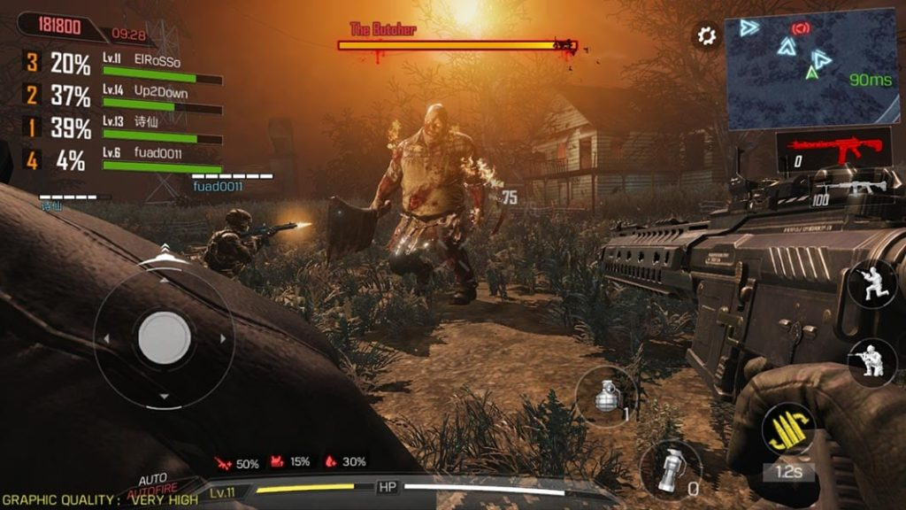 Download and Play  Call of Duty Mobile Zombie for Android free play zombies on CoD